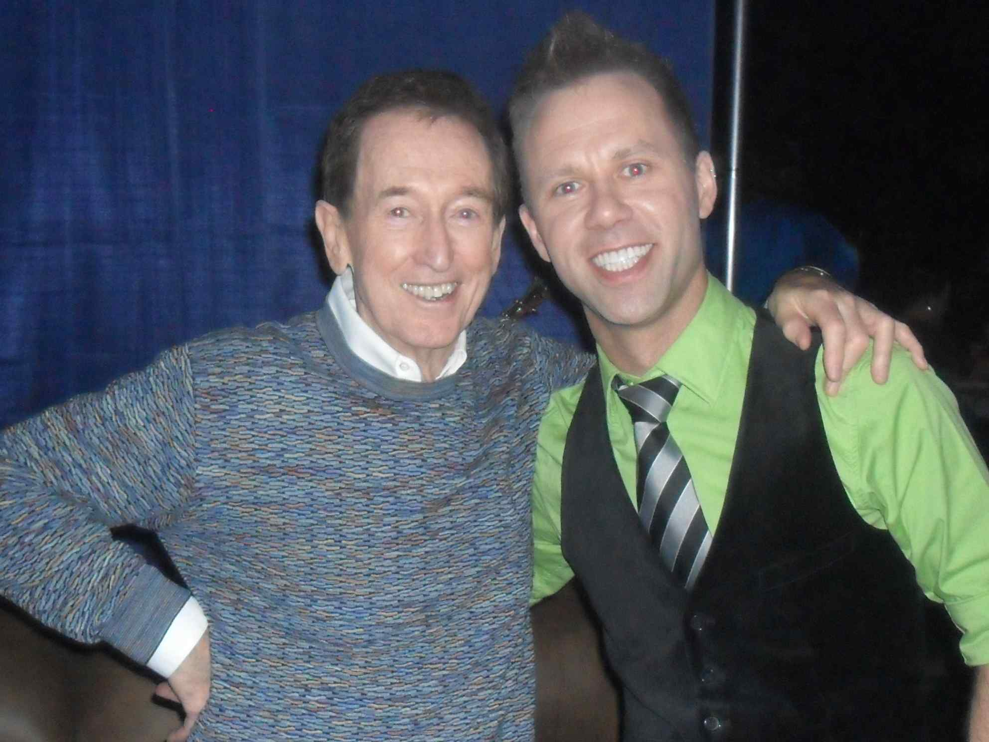 Jeffery Straker and Bob McGrath