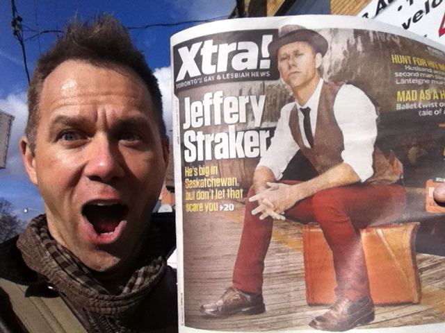 On the Cover of Xtra!