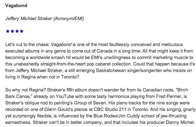 Toronto Star Review 4 Stars