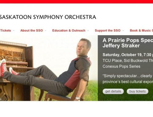Saskatoon Symphony Show-Tickets on Sale