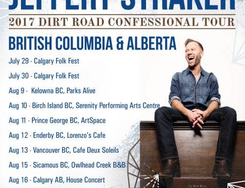 Upcoming Alberta and BC shows