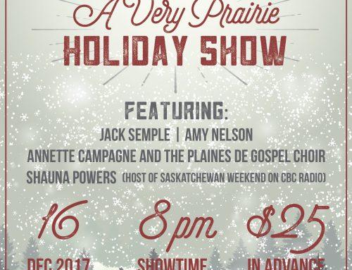 Holiday Shows – Watrous SK, Richmond Hill ON, Regina SK