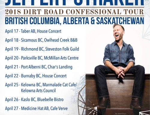 10 date tour:  Saskatchewan to BC coast and back