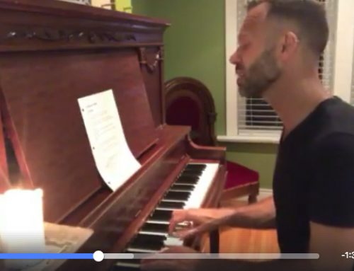 A beauty of a cover song I video'd at my old Heintzman piano