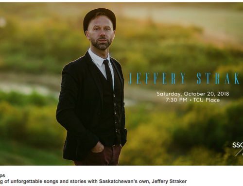 BIG show Announcement!! In concert with the Saskatoon Symphony Orchestra, Oct 20th-TCU Place