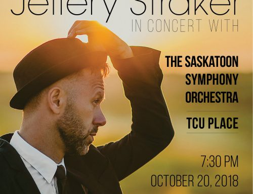 Jeffery with the Saskatoon Symphony Orchestra-Oct 20