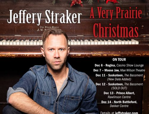 4 shows left on the holiday tour: Saskatoon, Saskatoon, Prince Albert, North Battleford