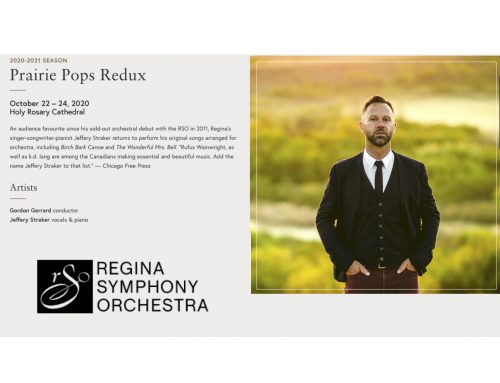 Jeffery with the Regina Symphony Orchestra – Oct 22,23,24