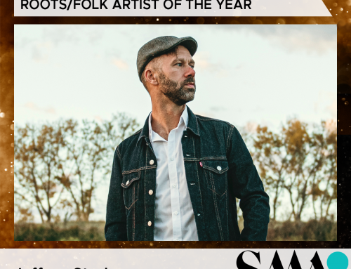 Well this is a big honour! A Saskatchewan Music Award