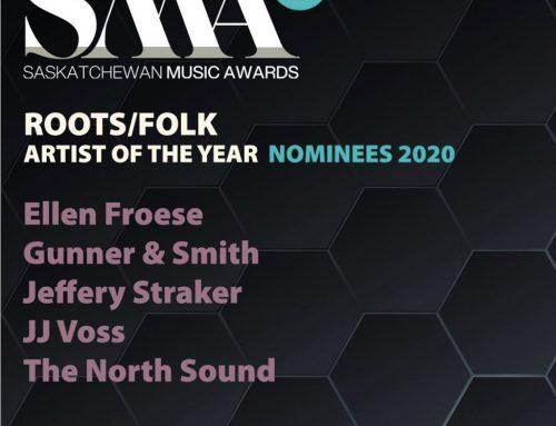 Nominated for a 2020 Saskatchewan Music Award